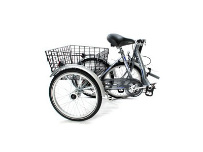 MISSION Space Genie Folding Trike 24 inch wheel click to zoom image