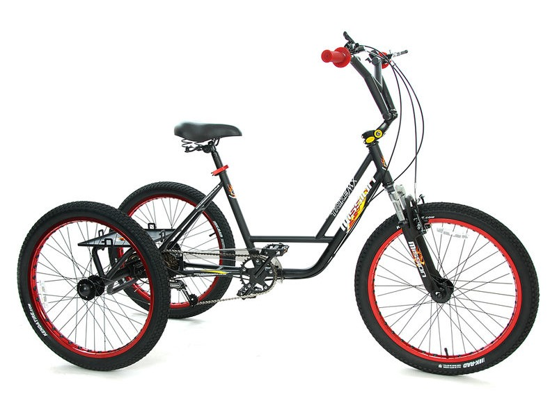 "MISSION 24"" BMX Trike click to zoom image"