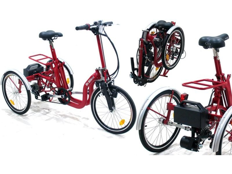 MISSION Di Blasi R34 electric folding trike click to zoom image