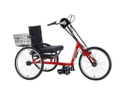 MISSION Rehatri 24 inch upright hand cycle